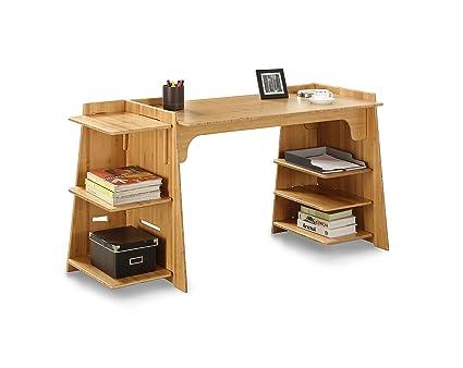 Legare Configurable Craft Desk, 70 Inch, Amber Bamboo
