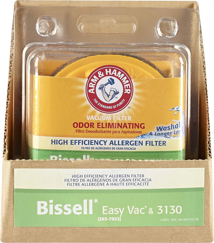 EURH9 A&H Bissell Easy Vac & 3130 Allergen Filter Pkg