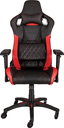 Corsair T1 Race Gaming Chair Black Red Cf 9010003 Ww Amazon In