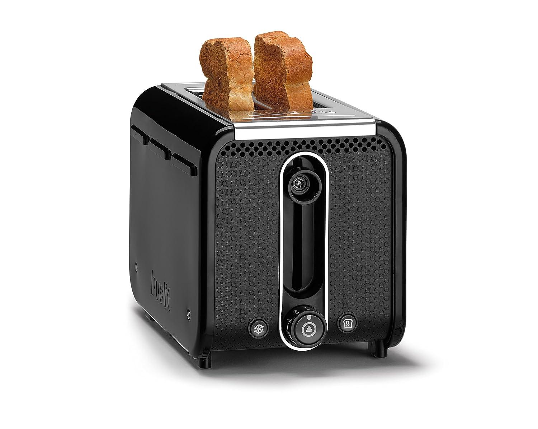 Dualit 26410 2-Slot Studio Toaster, 1200 Watt, Black 619743264107