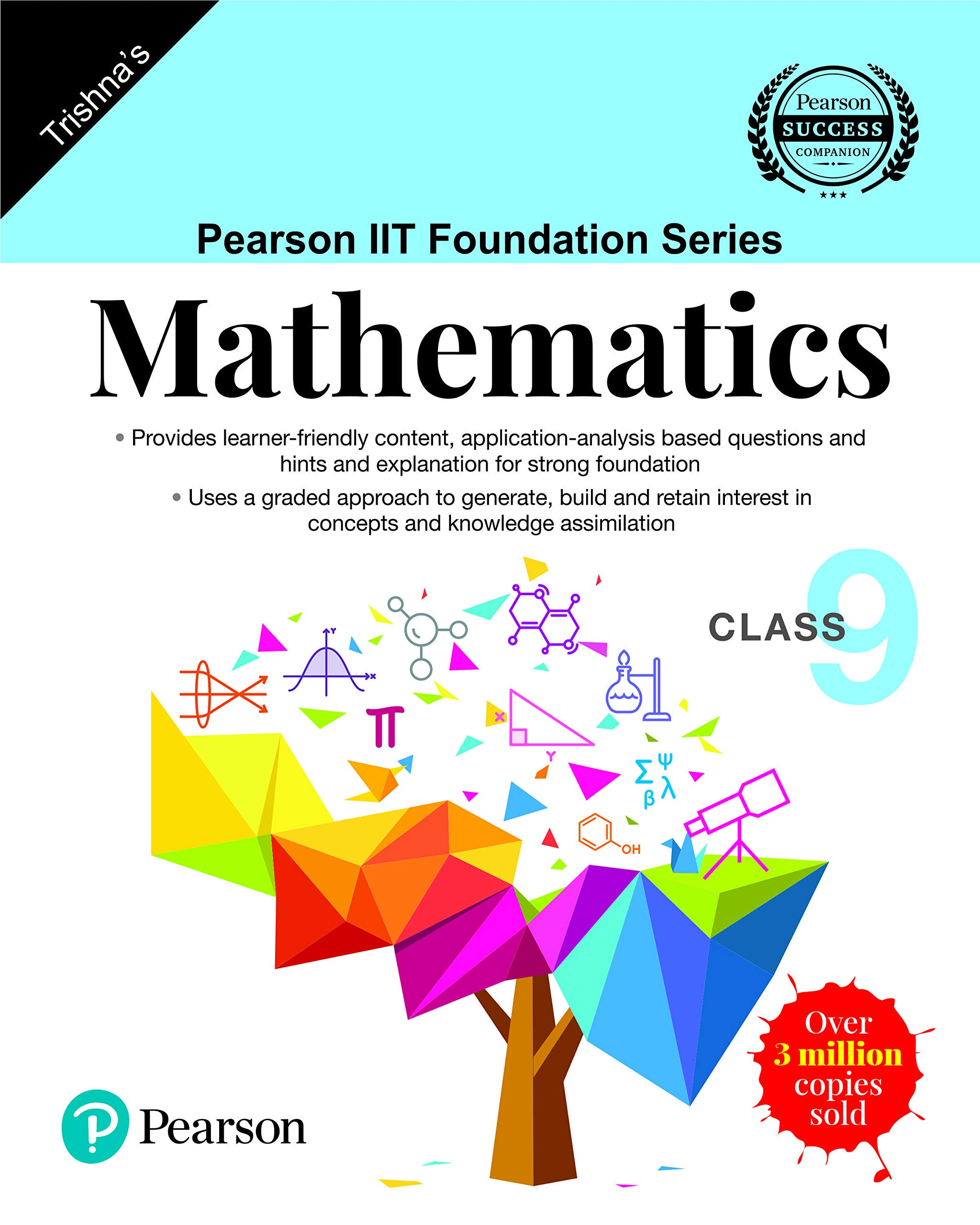 Pearson IIT Foundation Series – Maths – Class 9 (Old Edition)