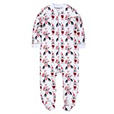 Jimonda Baby Boy Girl's 2-Pack Footie 100% Cotton
