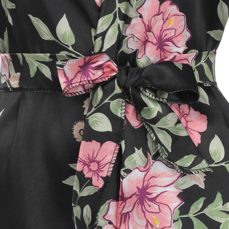 Sunmiles Silk Satin Wedding Bride Bridesmaid Robe Floral Bathrobe Long Kimono Night Bath Fashion Dressing Gown Women,