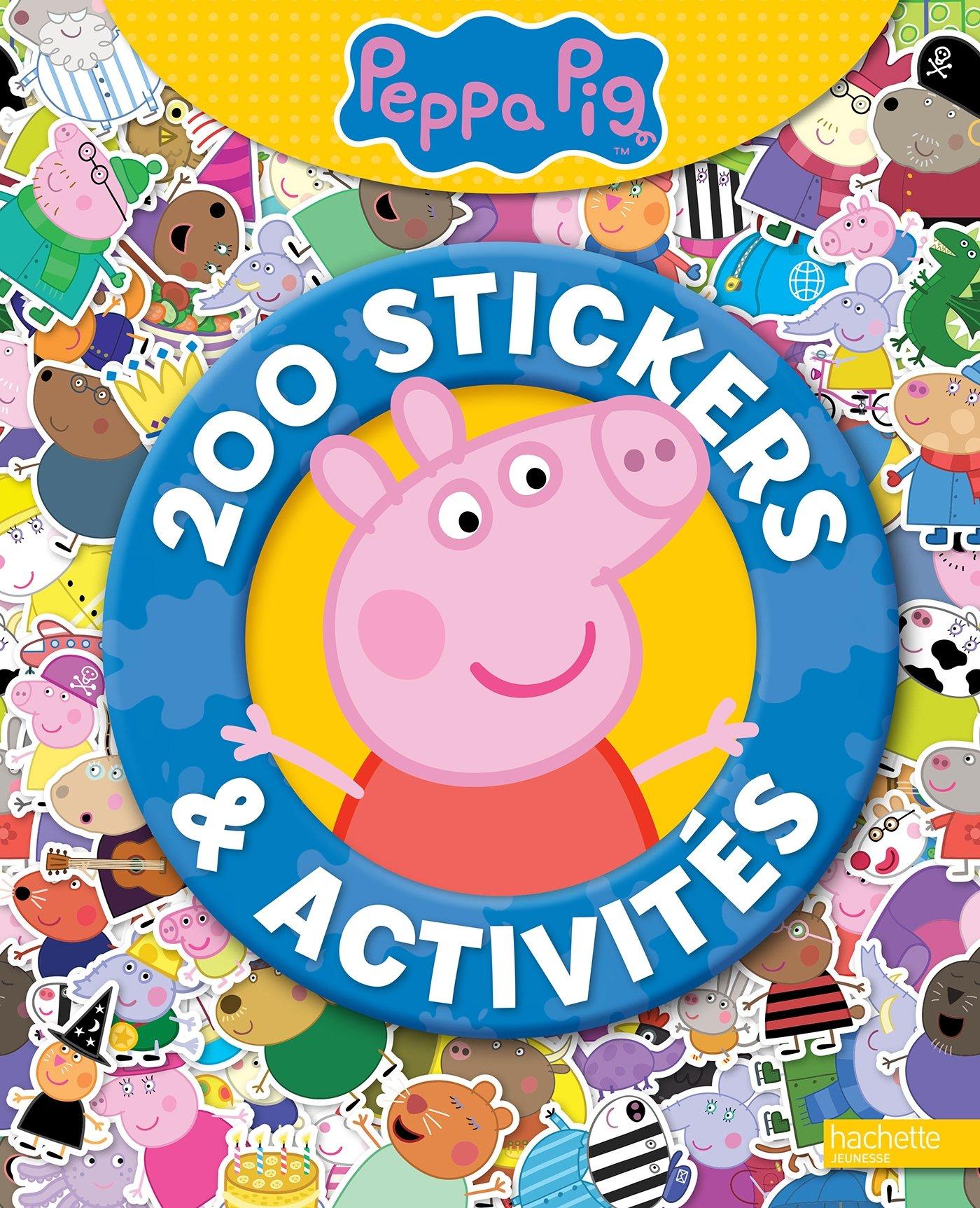 Amazon Peppa Pig 200 stickers et activités Hachette Jeunesse Livres