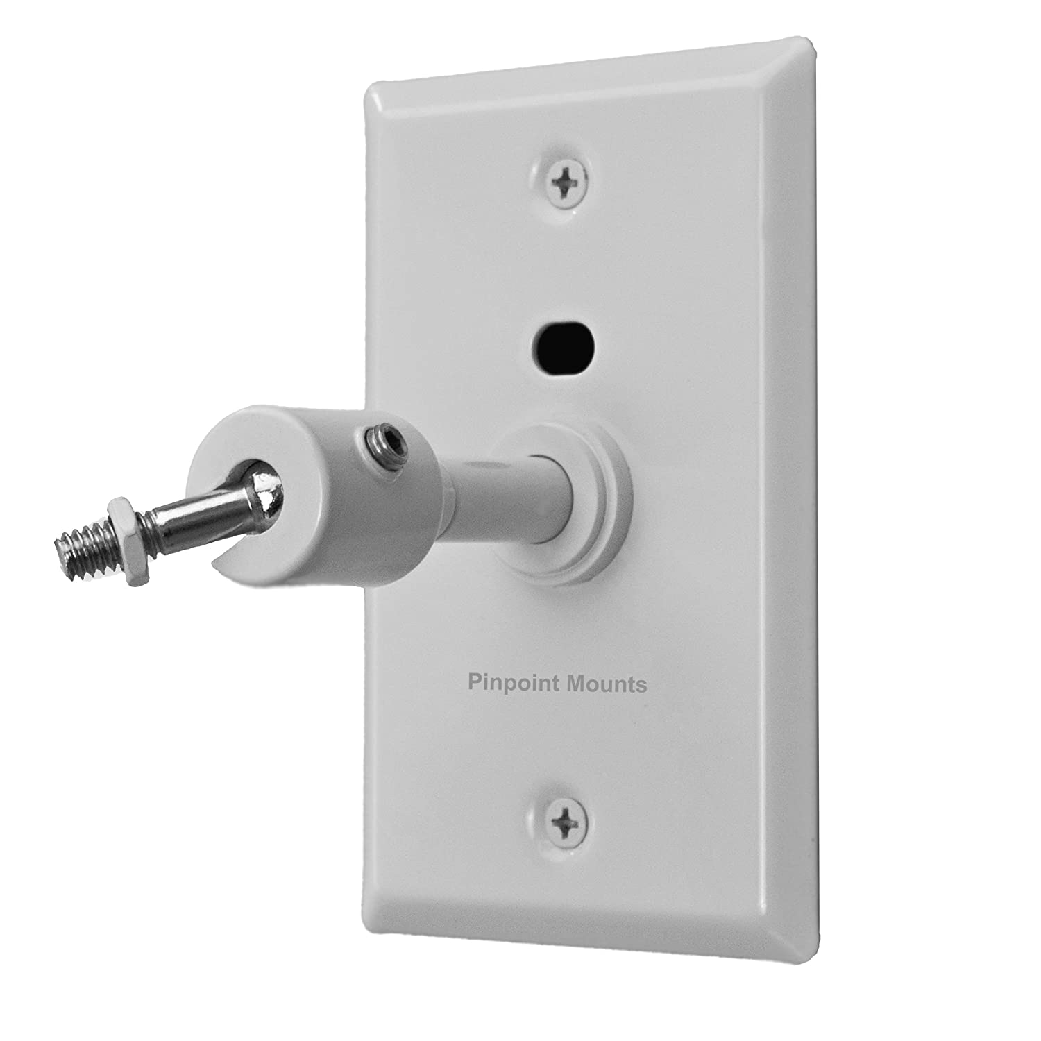 Amazon.com: Pinpoint Mounts AM21-White Universal Home Theater ...