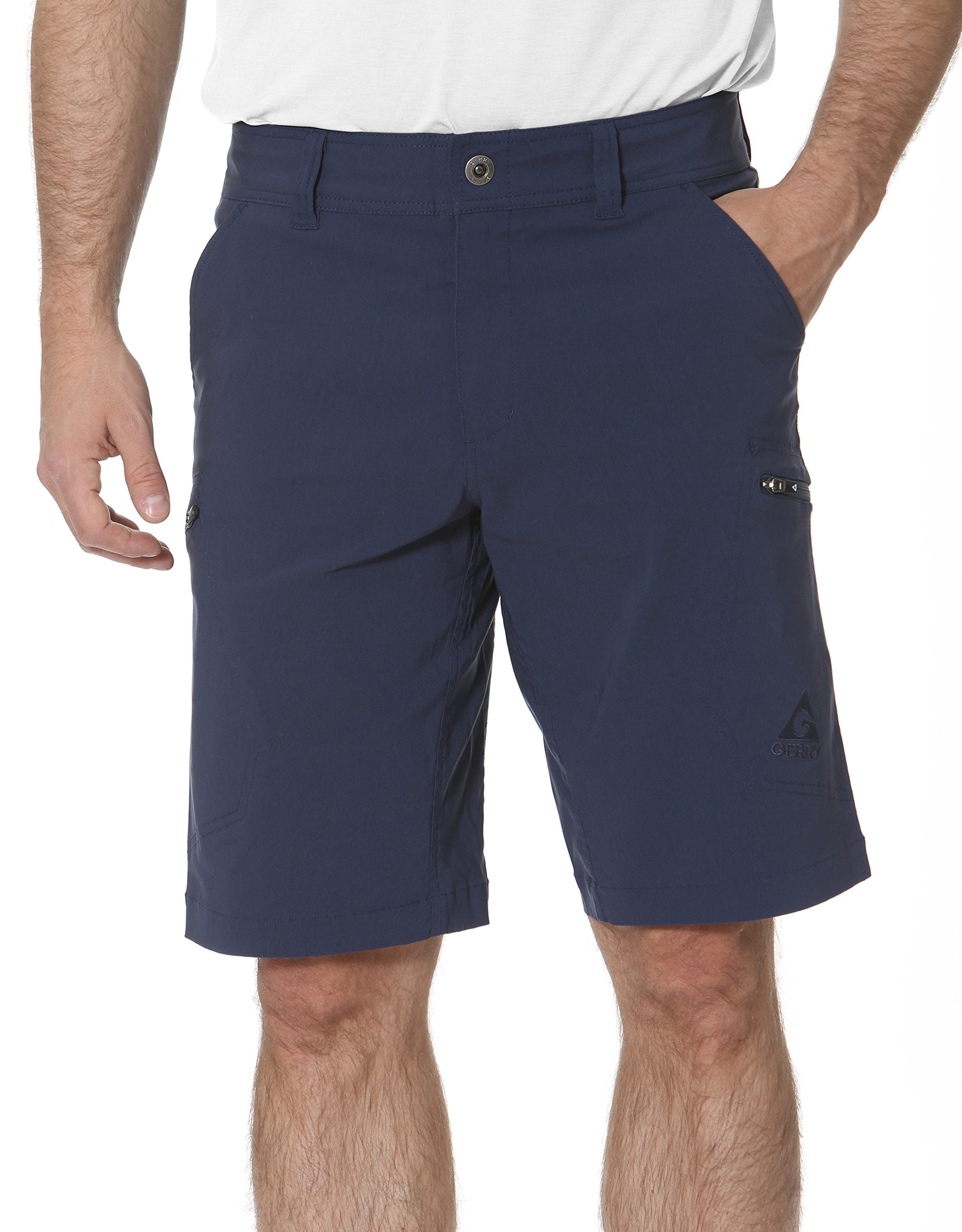 Gerry Stretch River Hiking Short, Blue Dust, Size 30