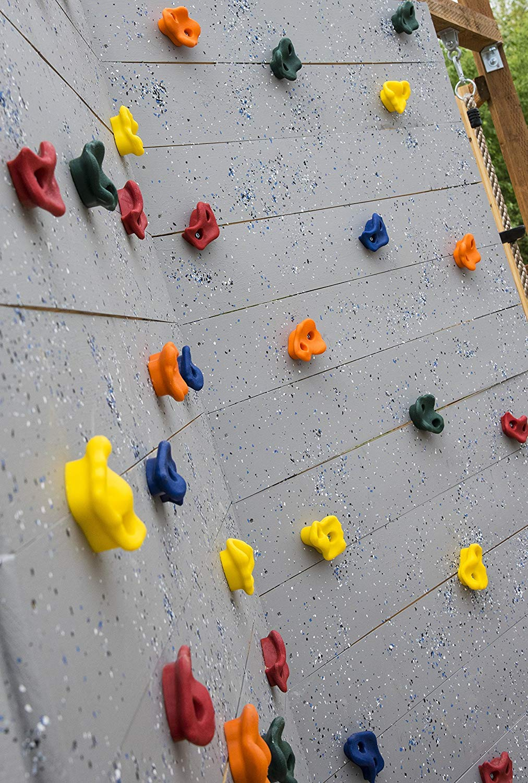 Mur pour b/éb/é Rocodromo Multipresa pour la Formation CLAMBINN 20 Prises descalade pour Les Enfants rondelles et cl/é Allen Inclus. Boulons