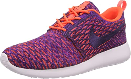 Justicia bandeja papa  Nike Roshe One Flyknit, Women's Low-Top Sneakers, Purple (Ttl Crimson/Grnd  Prpl-Vvd Prpl), 4.5 UK (38 EU): Amazon.co.uk: Shoes & Bags
