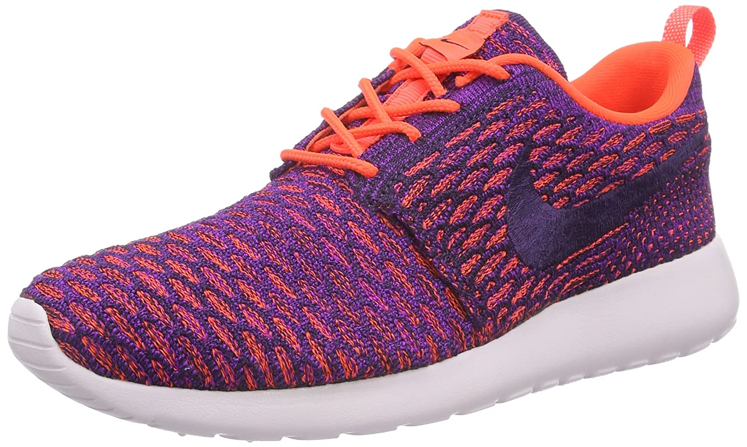 NIKE Womens Roshe One Flyknit Flyknit Colorblock Running Shoes B01F4P1VV2 6.5 B(M) US|Ttl Crimson/Grnd Purple-vvd Purple