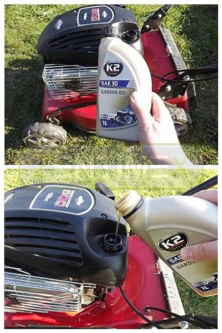 antifricción aceite SAE 30 dispositivos Jardín Jardín frähen ...