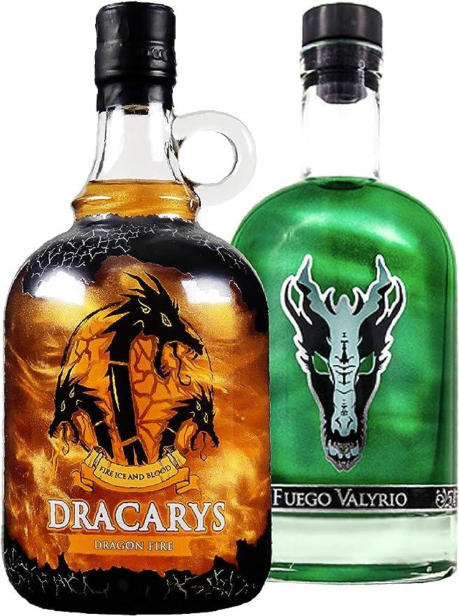 Pack 2 botellas 1 de Fuego Valyrio y 1 de Dracarys Fire: Amazon.es: Electrónica