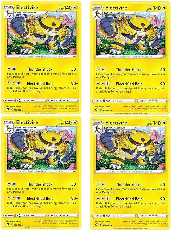 SWSH REBEL CLASH ELECTIVIRE 059//192 RARE Pokemon