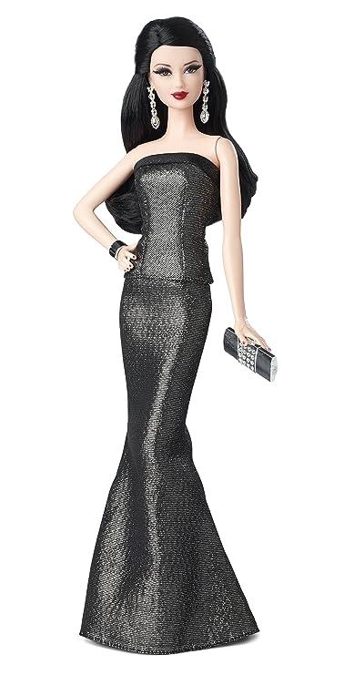Barbie - Muñeca Look con vestido, color azul (Mattel BCP90): Amazon.es: Juguetes y juegos