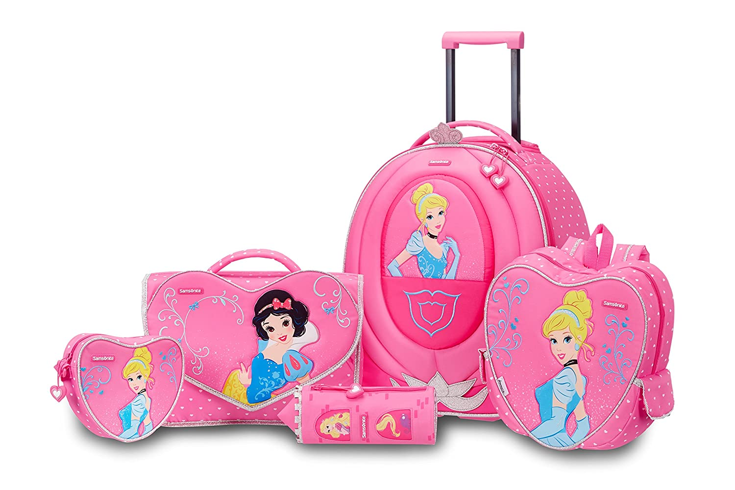 KidsTravel2.com ,  Kindergepäck Pink rose Carry-on