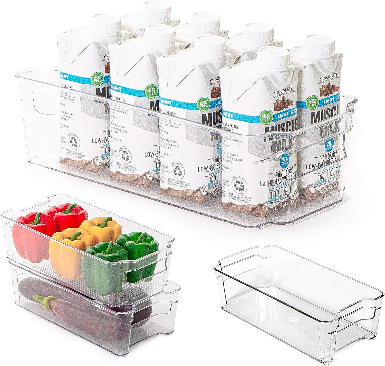 Freezer Storage 100 Clear Polythene Plastic Bags 10 x 12 Inch Craft Food