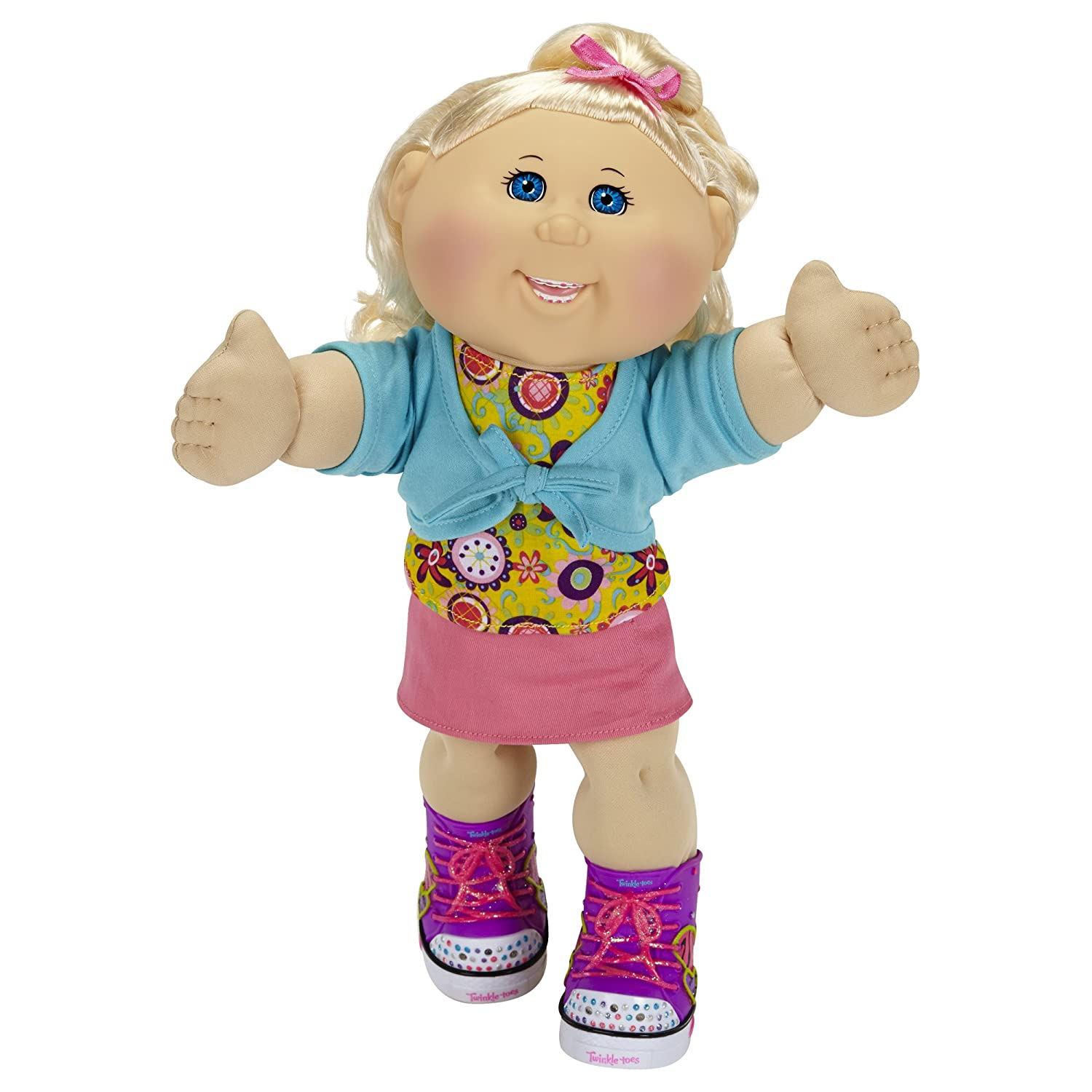 Amazon Com Cabbage Patch Kids Twinkle Toes Caucasian Girl Doll