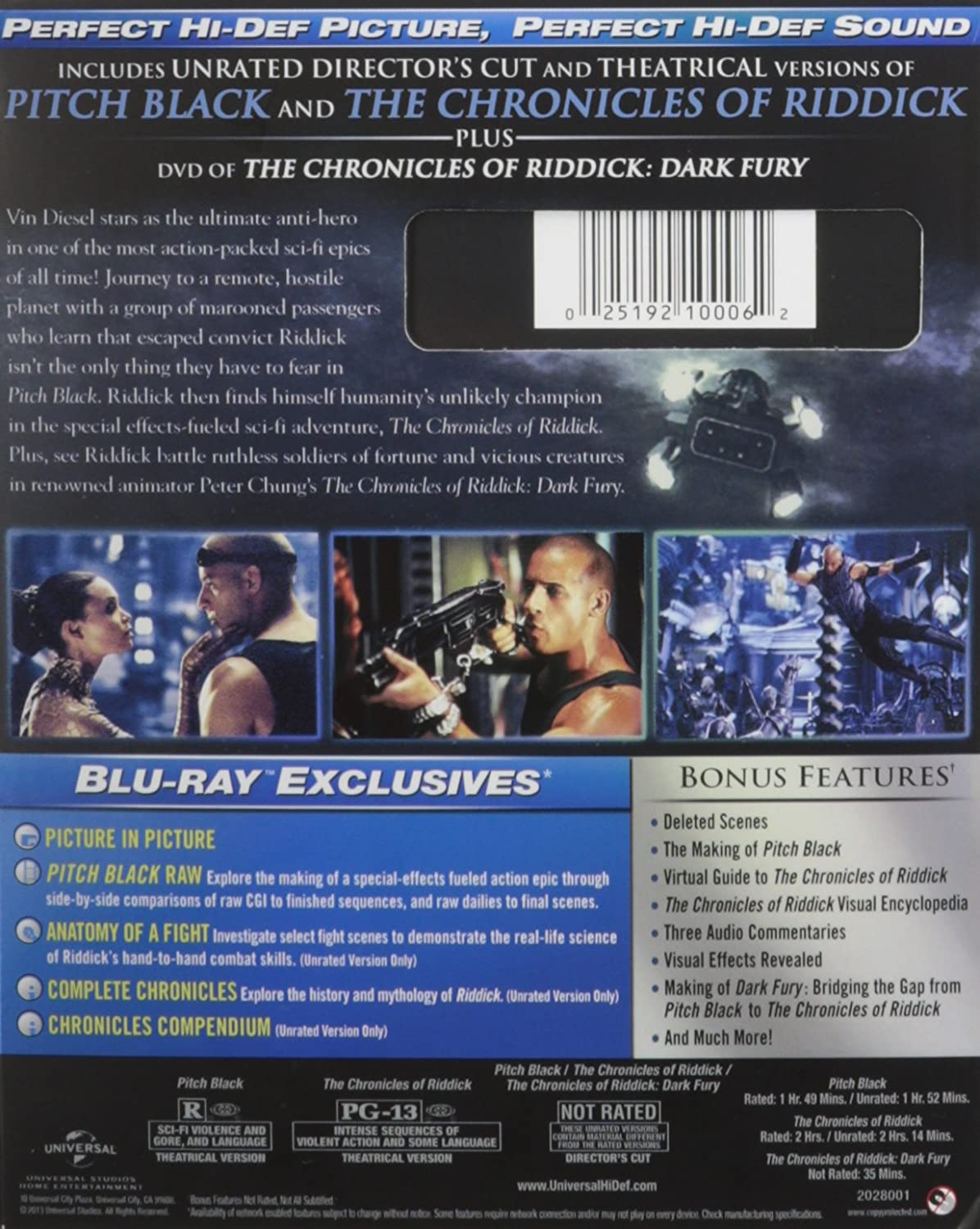 Amazon Rid Collection Pitch Black / Chronicles