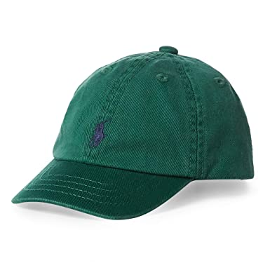 2902fbf6be0 Amazon.com  RALPH LAUREN Childrenswear Baby Boys Sport Cap (One Size ...