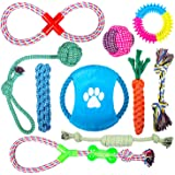 Puppy Pets Dog Rope Toy Assortment for Small Medium Large Dogs