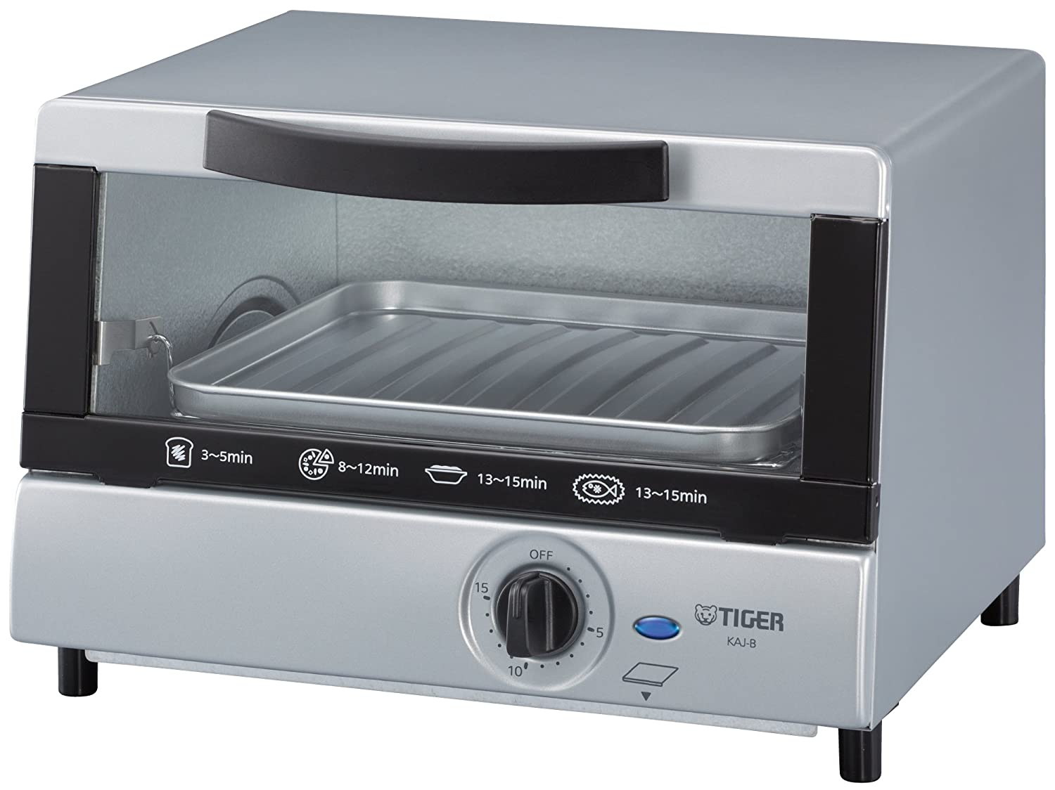 Tiger Corporation KAJ-B10U Double Infrared Toaster Oven with Removable Crumb Tray