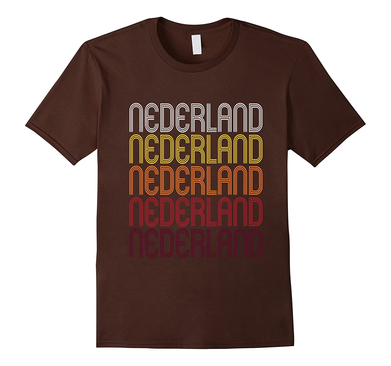 Nederland, TX | Vintage Style Texas T-shirt-FL
