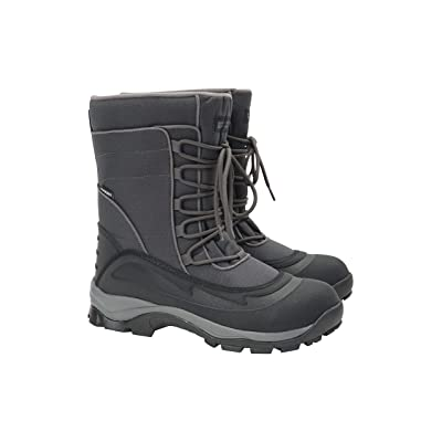 Mountain Warehouse Park Mens Snow Boots - Snowproof Winter Shoes | Snow Boots