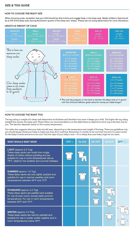 Slumbersafe Toddler Sleeping Bag Long Sleeves 2.5 Tog - Choo Choo, 18-36 months/LARGE