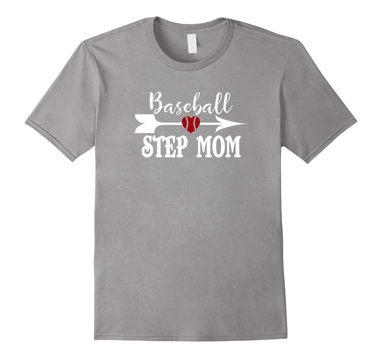 Baseball Stepmom Tshirt Mothers Day Birthday Gift Idea