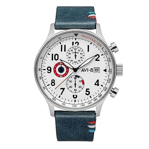 Reloj Hombre – AVI-8 Hawker Hurricane – Edición Limitada Exclusiva Francesa – Cuarzo –