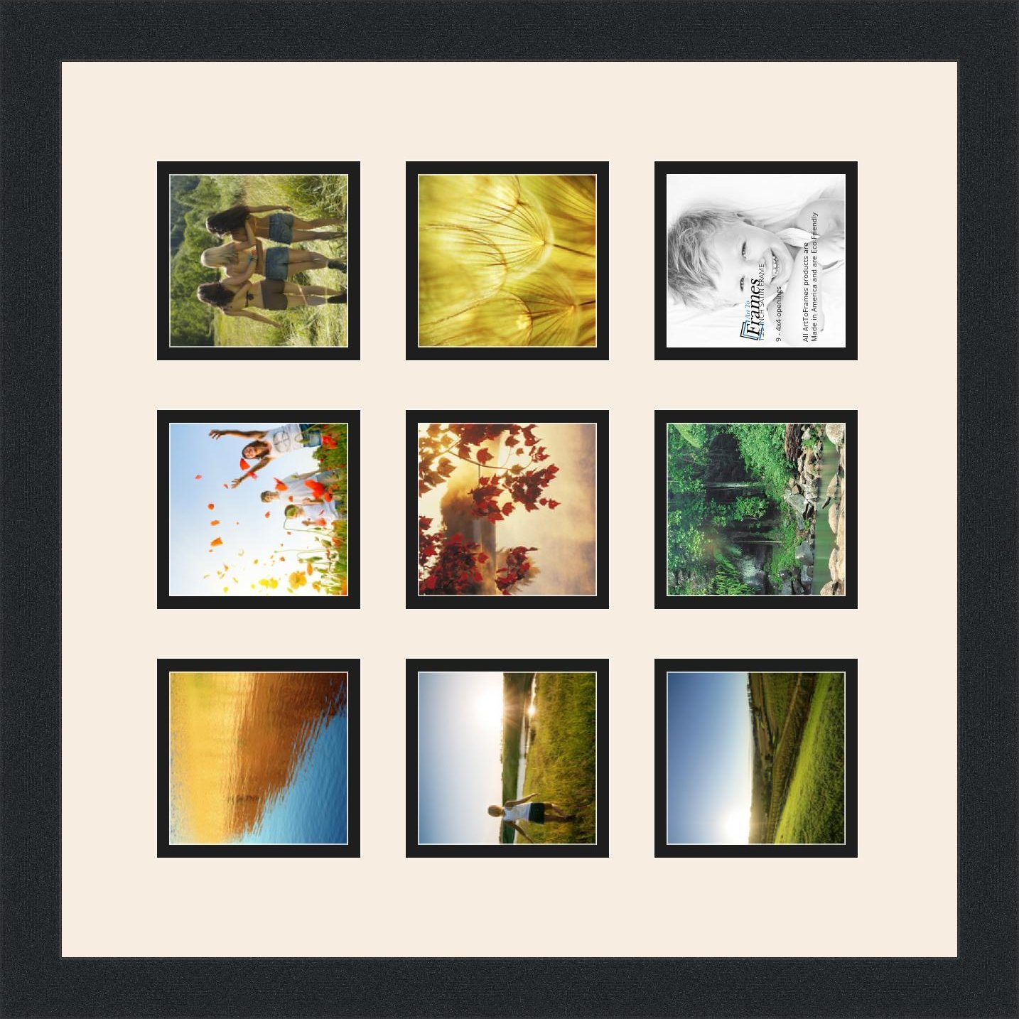 Amazon.de: Art An Rahmen double-multimat-1187-824/89-frbw26079 ...