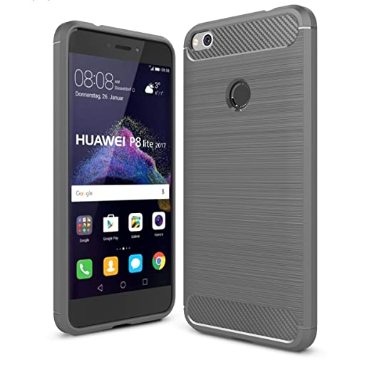 196 opinioni per IVSO Huawei P8 Lite 2017 Custodia, Protettiva Case Cover Custodia in silicone