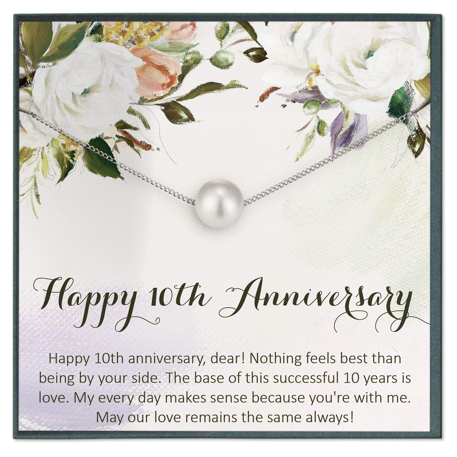 Amazon Com Anniversary 10 Year Gifts Anniversary Quotes For Anniversary Gifts For Her Best Anniversary Gifts For Wife Handmade