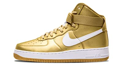 air force 1 gold high top