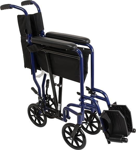 Amazon.com: Silla de ruedas Roscoe Medical, de aluminio ...