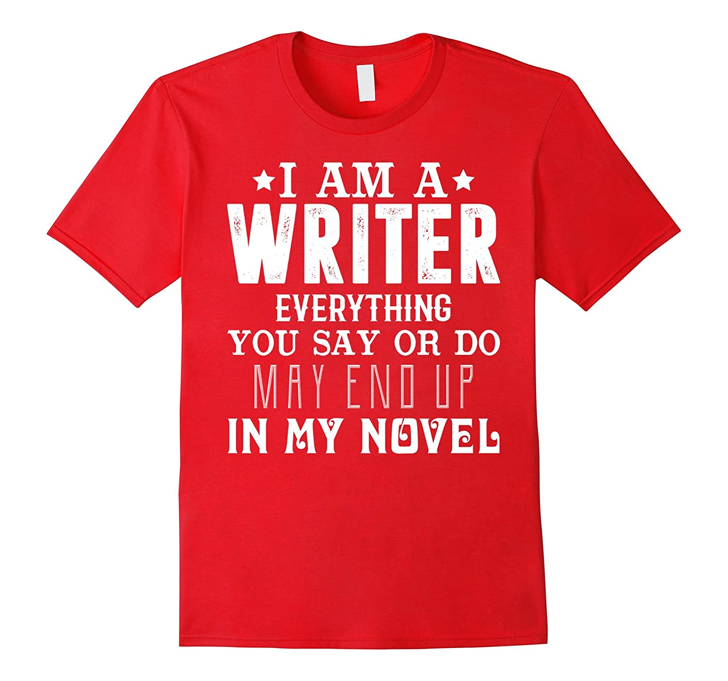 Writer Shirt Funny Author T shirt-Tovacu