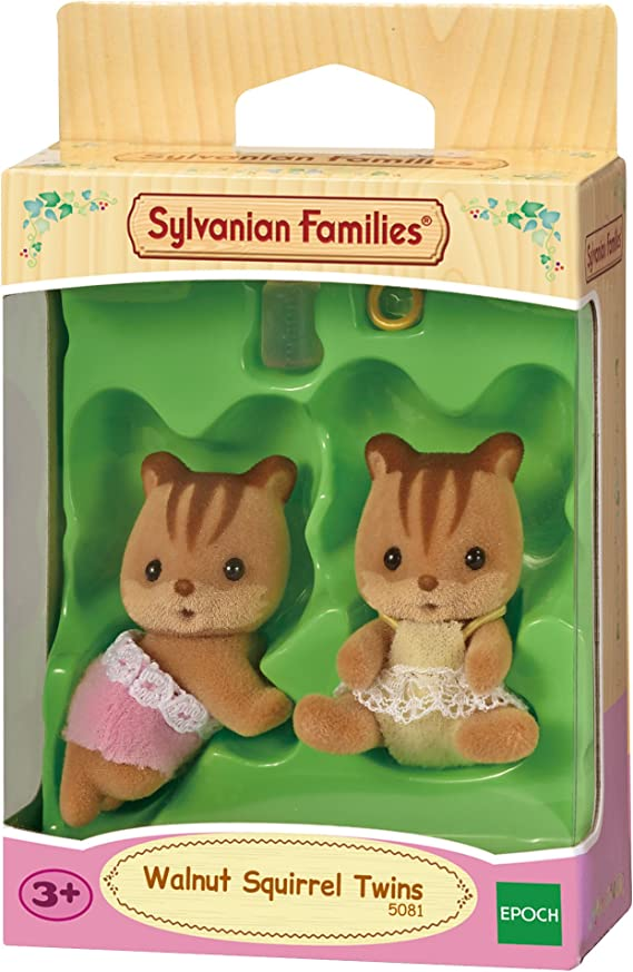 Sylvanian Families- Walnut Squirrel Twins Mini muñecas y Accesorios, Multicolor (Epoch para Imaginar 5081): Amazon.es: Juguetes y juegos