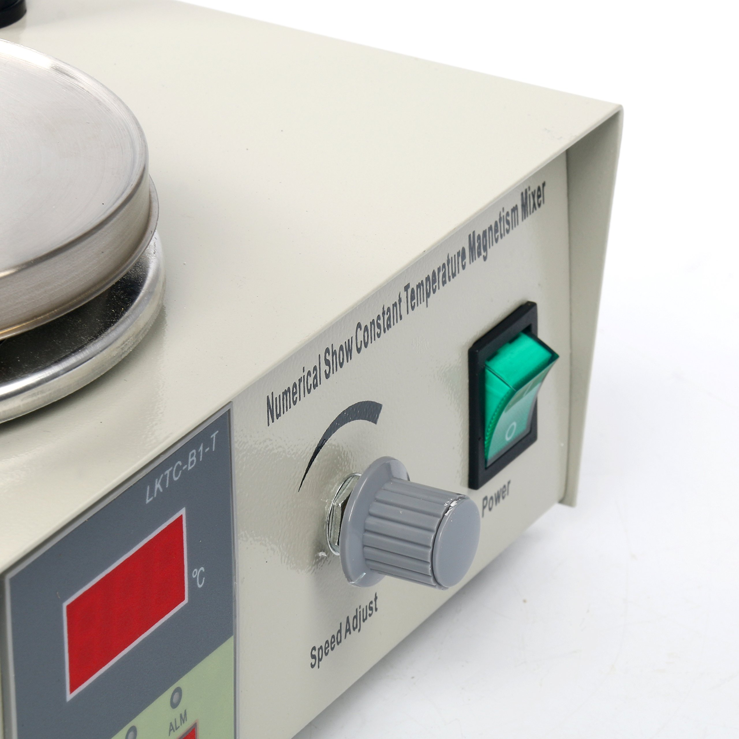 YaeCCC Magnetic Stirrer Hotplate with heating plate 85-2 Digital Magnetic mixer AC 110V by YaeCCC (Image #4)