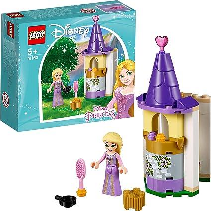 Amazon Com Lego Disney Rapunzel S Petite Tower 41163 Building Kit 44 Pieces Discontinued By Manufacturer Toys Games