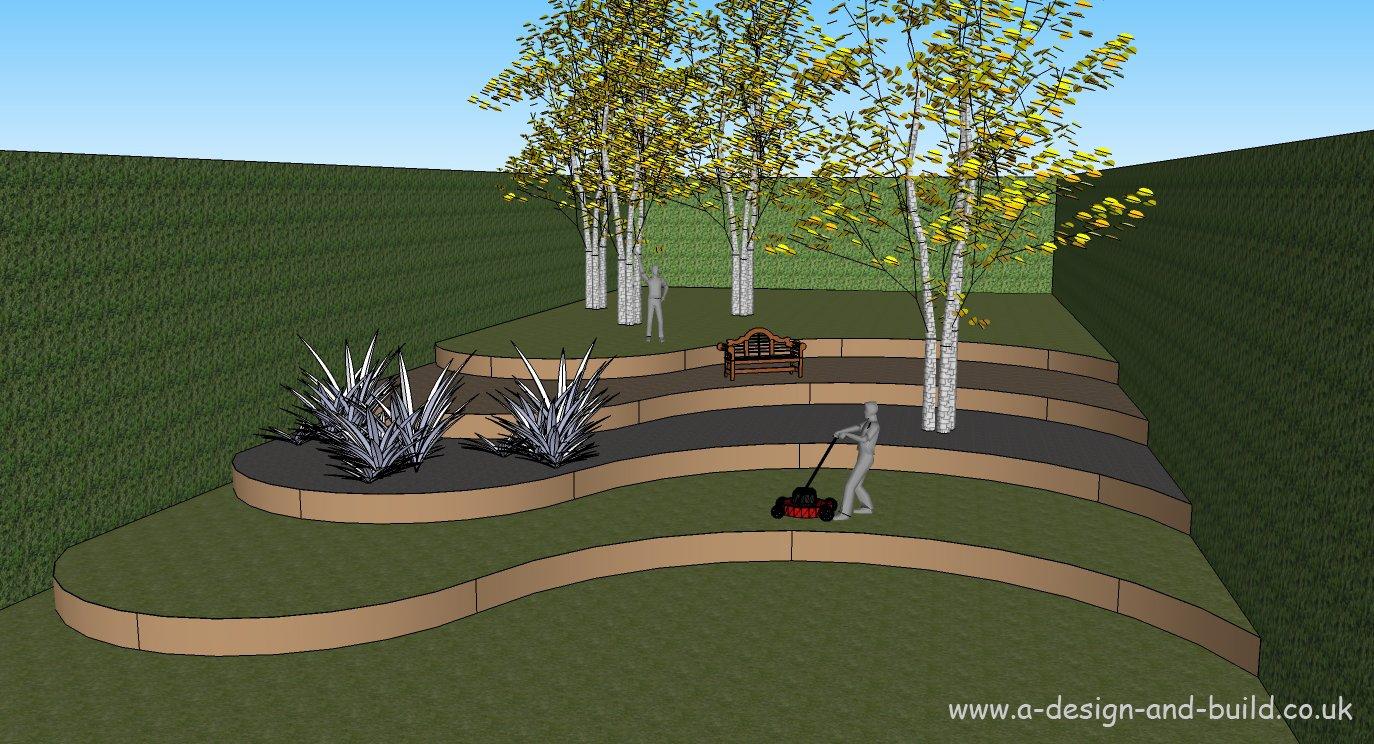 flexi-terrace–Ideal für Sicher schaffen Attraktive abschüssige Gärten–einfach zu installieren von allen–langlebig und kein Durcheinander Lösung–kosteneffiziente Weg, zu ändern Steigung Gartenarbeit., braun, 10m 30cm 2mm