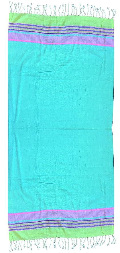 Textil Tarragó Toalla Pareo para Piscina Algodón, Rosa 27x38x3 cm