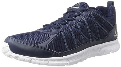 Reebok Ahary Runner, Chaussures de Running Homme, Bleu (Collegiate Navy/White/Pewter), 46 EU