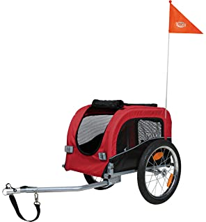 Trixie Dog Bicycle Trailer Medium Grey Pet Supplies