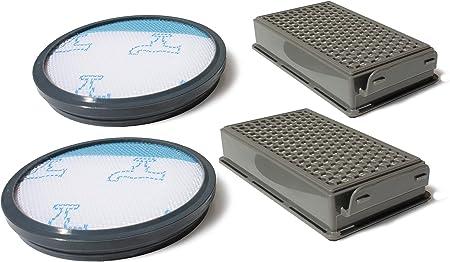 MI:KA:FI 2x Juego de filtros | para Rowenta + Moulinex + Tefal | Modelos Compact Power Cyclonic | como ZR005901: Amazon.es: Hogar