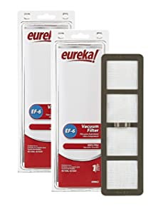 Genuine Eureka EF-6 HEPA Vacuum Filter 69963 2-Pack