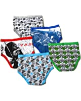 Star Wars Little Boys' Brief (Pack of 5)