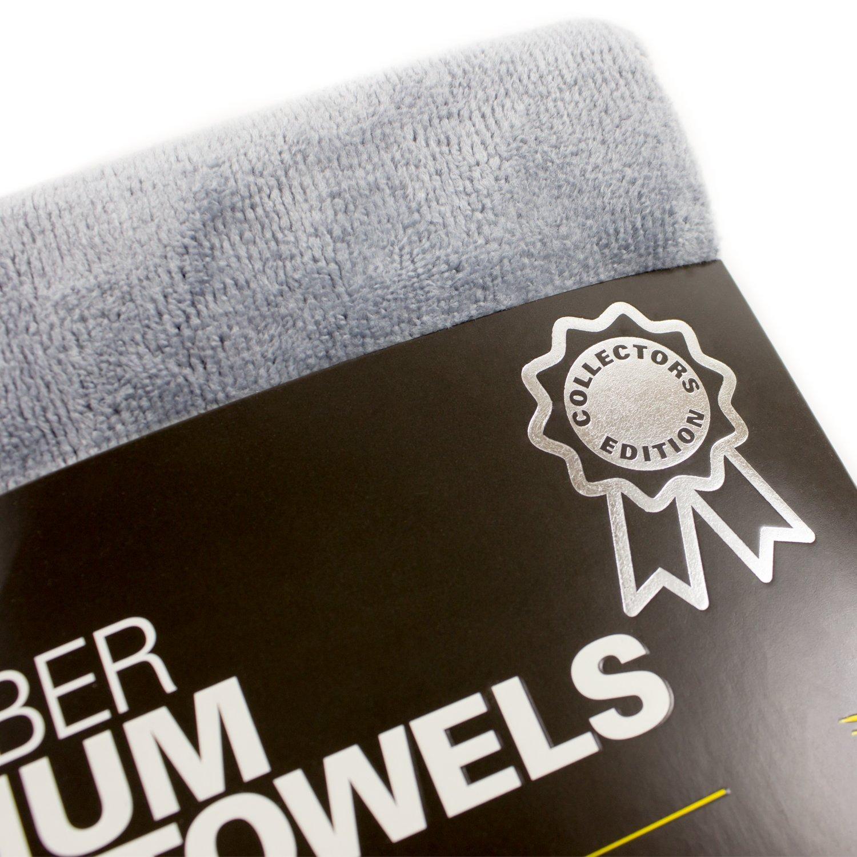 Zwipes Auto Microfiber Premium Plush Cloths 6-Pack 16-in x 24-in