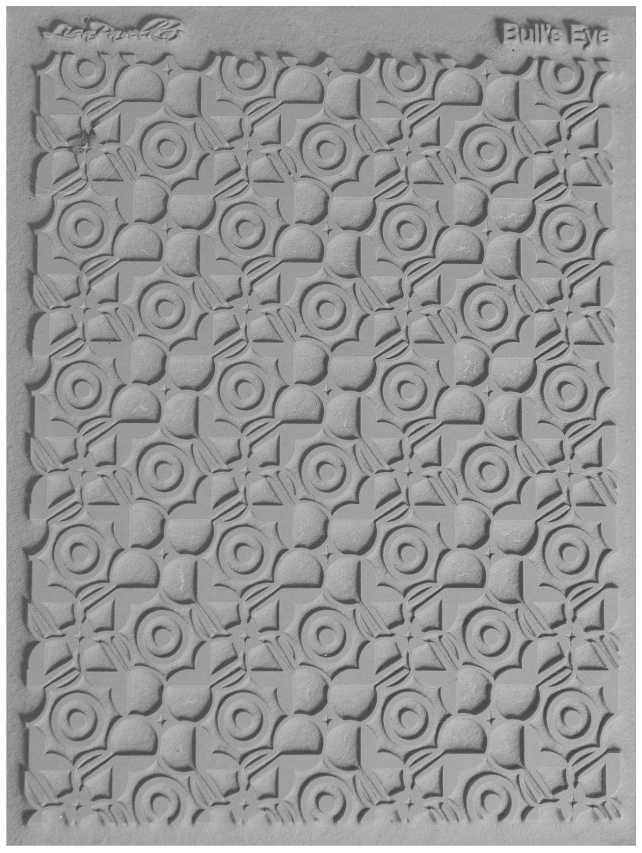 Lisa Pavelka Texture Stamp Bull's Eye (Style #053)