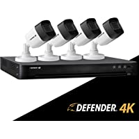 Defender Ultra HD 4K (8MP) 4 Channel 1TB DVR Security Camera System