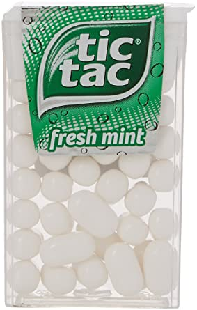 Tic Tac Mint 18 g (Pack of 24): Amazon.co.uk: Grocery