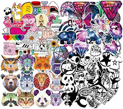 BETOY Pegatinas,Sticker Pack, Graffiti Sticker (150 PCS) Vinilo ...